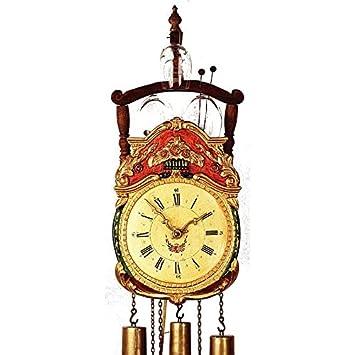 Alemán Antiguo reloj replica de 8 días por el movimiento 49 cm - Auténtico reloj de