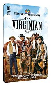 The Virginian - Complete First Season on 10 DVDs - Limited Edition Embossed Collector's Tin! Plus Bonus Interview DVD!