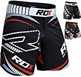 RDX Boxing Fight Shorts MMA Grappling Muay Thai Trunks Cage Fighting Training Martial