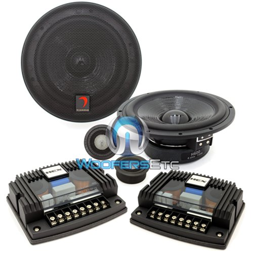 """H600A - Diamond Audio 6.5"""" HEX Series Component System"""
