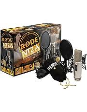 Rode NT2-A Pack Microphone à ruban avec étui et adaptateur de support