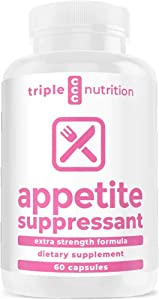 Appetite Suppressant for Weight Loss | Appetite Suppressant for Women | Best Weight Loss Pills for Women | Suppress Your Appetite, Boost Your Energy, Stimulate Your Metabolism - 60 Caps