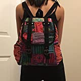 NEW!!! Vintage Thai Cotton Hippie Hobo Sling Crossbody Bag Messenger Purse Ethnic Elephant Parade Christmas Gift