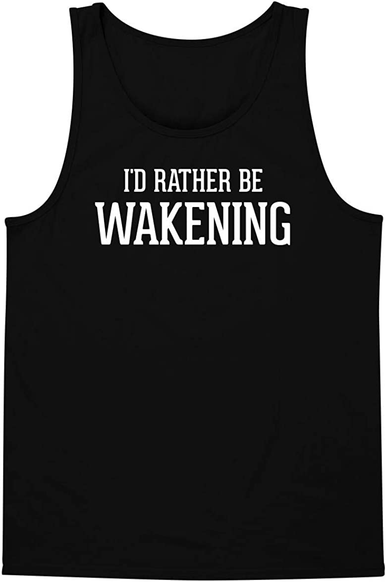 I'd Rather Be WAKENING - A Soft & Comfortable Men's Tank Top