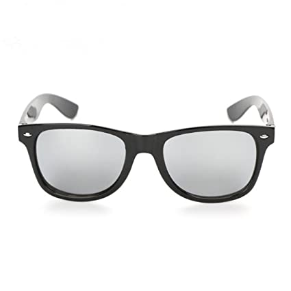 9c75edf056267 Amazon.com  CHOUHOB Vintage Sunglasses For Retro Black Sunglasses Oculos De  Sol Maschlino Silver  Sports   Outdoors
