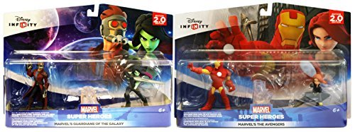 Disney Infinity 2.0 - Guardians Of The Galaxy and Avengers Playset Bundle by Disney Infinity