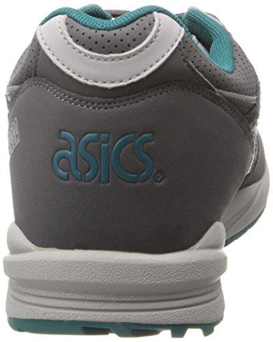 Asics Mens Gel Saga Fashion Sneaker Grigio Scuro / Grigio Scuro