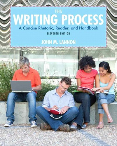 The Writing Process: A Concise, Rhetoric , Reader, and Handbook -- Access Card Package (11th Edition)