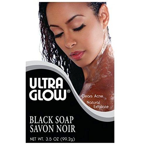 Ultra Glow Soap - Black 3.5 oz. (Pack of (Ultra Glow Cosmetics)