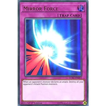 kaartspellen Mirror Force LCKC-EN053 Ultra YUGIOH Legendary Collection Kaiba