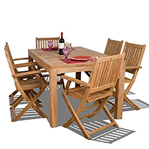 51UBWeygHrL._SS300_ Teak Dining Tables & Teak Dining Sets