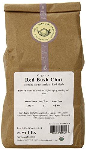 (The Tao of Tea Red Bush Chai, 100% Organic Rooibos Chai, 1-Pound)