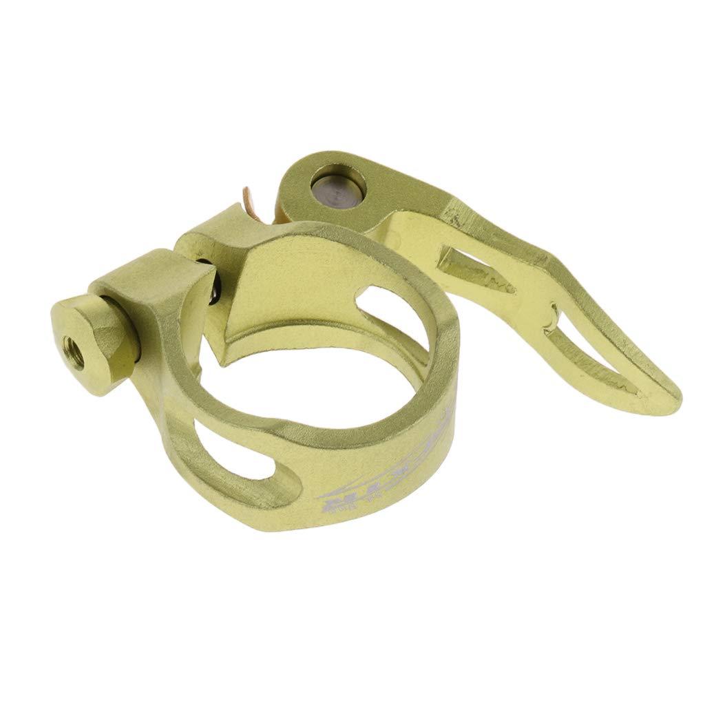 IPOTCH Pince De Selle De Selle De Bicyclette 34.9mm Pince De Selle De Selle /à D/émontage Rapide