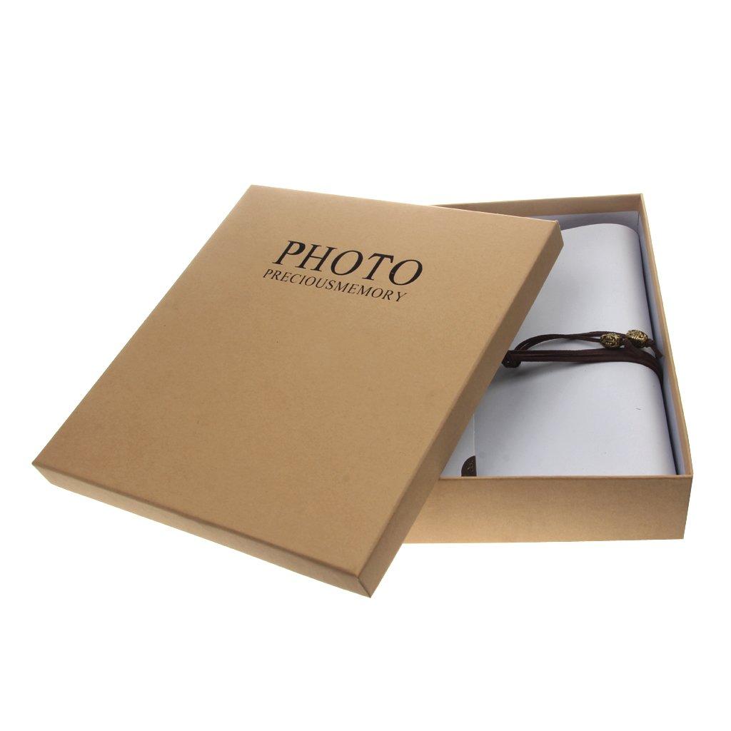 Álbumes Archivadores Memo Album Fotos Libro Recuerdos de Memoria Regalo Cuero PU Vendimia: Amazon.es: Electrónica