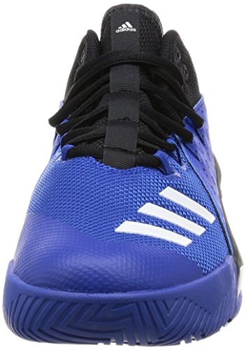 Adidas Street Jam 3, Scarpe da Ginnastica Uomo, Nero (Negbas/Ftwbla/Reauni), 43 EU