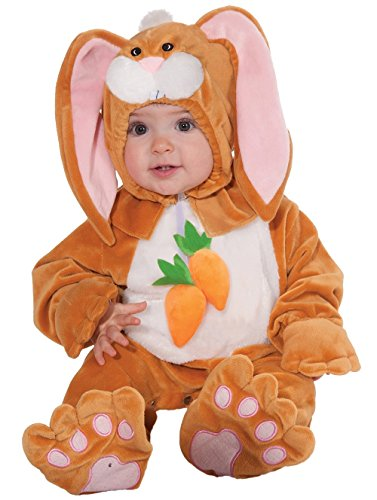 [Forum Children's Plush Rabbit Costume, Infant] (1 Year Old Fancy Dress Costumes)