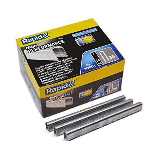 Cable lornamead R36 14 mm 5000 grapas caja Rapid
