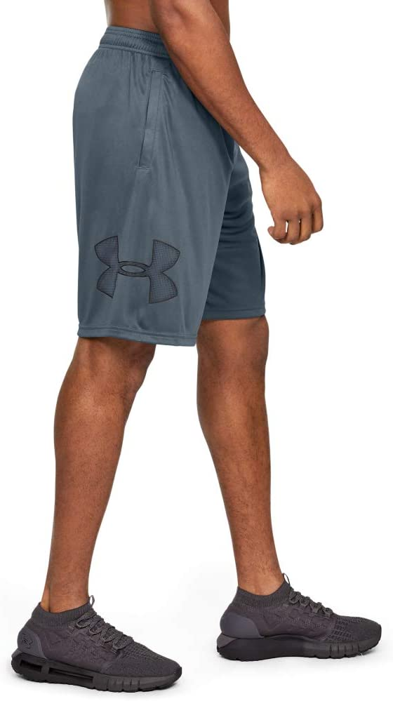 Under Armour Mens Tech Graphic Short Running Shorts Made of Breathable Material Workout Shorts with Ultra-Light Design