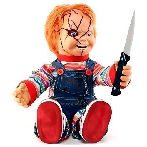 Bride of Chucky Memorabilia: 2015 24 Animated Talking Chucky Doll (26) by Bride of Chucky ()