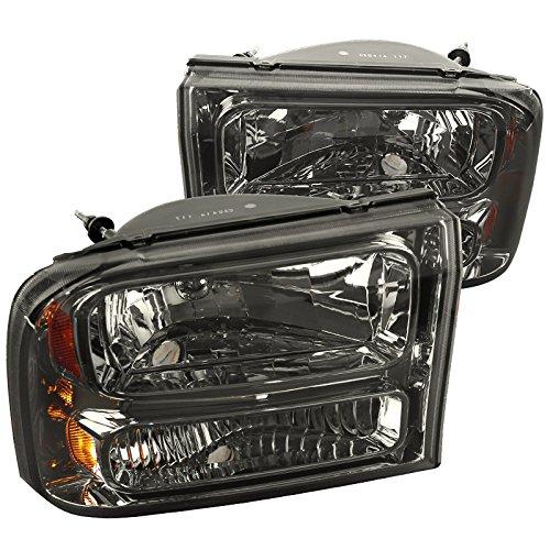 Headlights Piece Euro 1 (Spec-D Tuning 2LH-F250991PCG-ABM Smoke Headlight (1 Piece Euro))