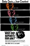 Whatever Happened to Baby Jane? Poster Movie B 11x17 Bette Davis Joan Crawford Victor Buono Anna Lee
