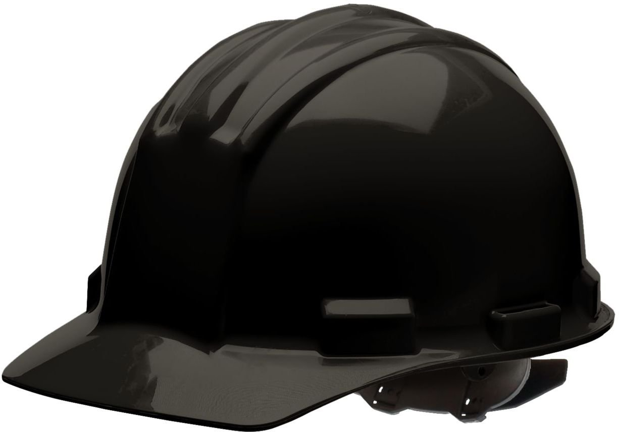 Bullard 51BKP Standard Series Cap Style w/Rain Trough Hard Hat Poly