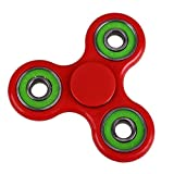 Tri Fidget Hand Spinner - fidget work Ultra Fast Bearings - Finger Toy, Great Gift