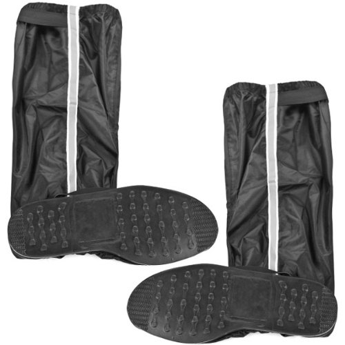 Zippered Motorcycle Boots - 2
