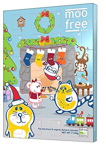 Advent Calendar Tradition - Moo Free Dairy Free, Organic Milk Tasting Advent Calendar