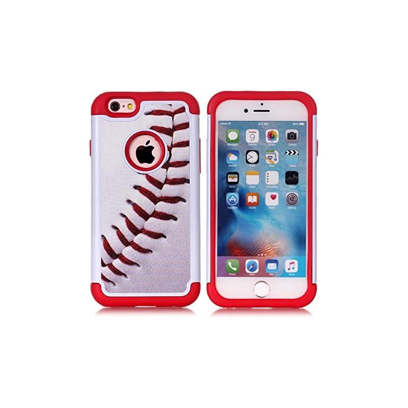 Iphone 6S Case,Iphone 6 Case - Baseball
