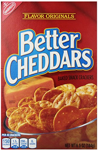 Better Cheddars Crackers Original Ounce product image