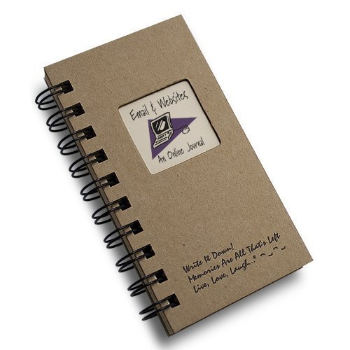 Email & Websites, An Online Journal - MINI Kraft Hard -