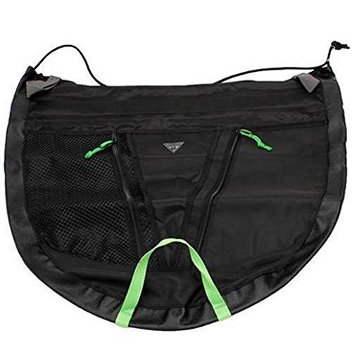 Kayak Accessories Skirt Seattle Padding 1/2 Skirt Medium Black by Canoe