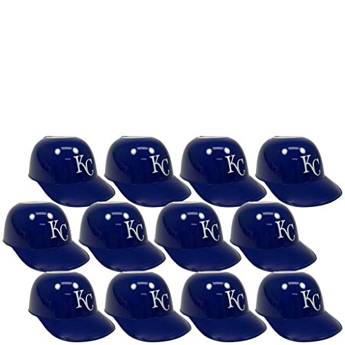 - MLB Mini Batting Helmet Ice Cream Sundae/Snack Bowls, Royals - 12 Pack