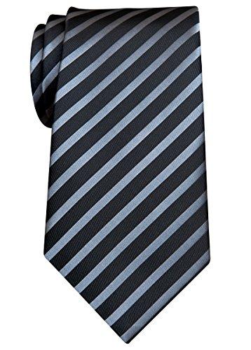 Retreez Stylish Diagonal Striped Woven Microfiber 3.15