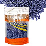 Depilatory Wax Beads - Waxing Beads for Hair Removal Lavender Brazilian Pearl Hard Wax Beans for Women Men Home 10oz/300g - FDA Certified