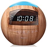 8-in-1 Bluetooth Alarm Clock Radio (Digital) Dual USB Charging Ports