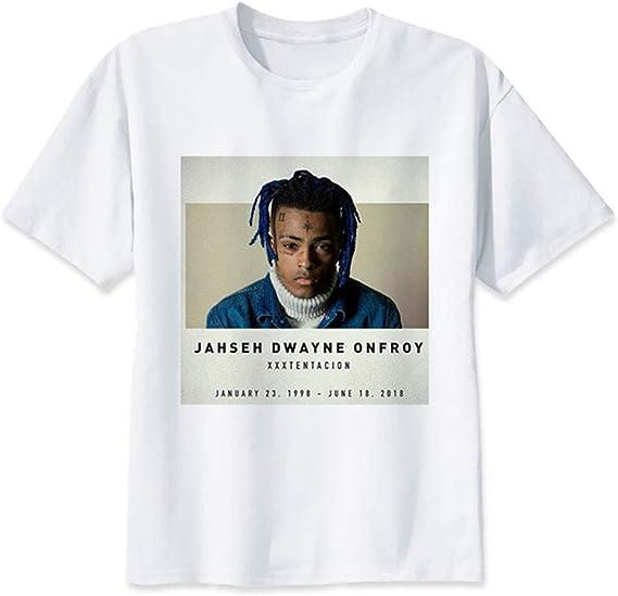 DHSPKN Xtentacion Memorial T-Shirts Rapper Hiphop Tee Shirts
