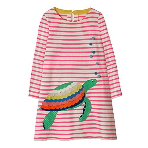 Hongshilian Girls Cotton Long Sleeve Dresses Dress for sale  Delivered anywhere in USA