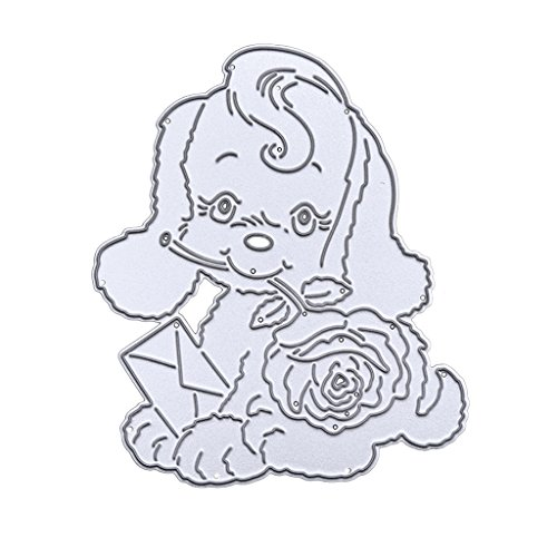 Arich Dog Metal Cutting Dies Stamps Embossing Stencil For Scrapbooking Diy Crafts