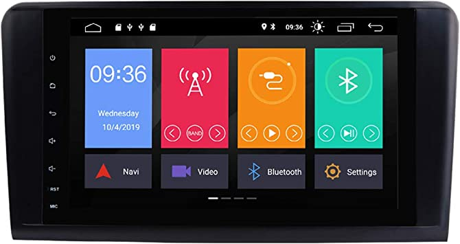 Toopai Android 9 0 Autoradio Für Mercedes Benz Gl Ml Class W164 X164 Ml350 Ml450 Ml500 Gl320 Gl450 Mit 9 Zoll Hd Multi Touch Bildschirm Unterstützung Gps Wifi Bluetooth Canbus Gps Full Rca Obd Dab Amazon De