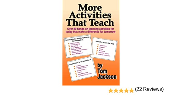More Activities That Teach: Tom Jackson: 9780966463330: Amazon.com ...