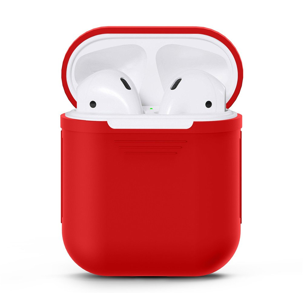 Silicone Waterproof & Dustproof & UNBreak Bluetooth Headsets Earbuds Full Protective Case for Apple Airpods Alician