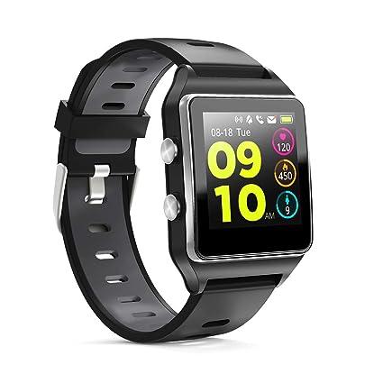 Smartwatch GPS, Reloj Inteligente Impermeable IP68 Pulsera Actividad Hombre Mujer, Inteligente Reloj Deportivo Reloj Fitness con Pantalla Táctil ...