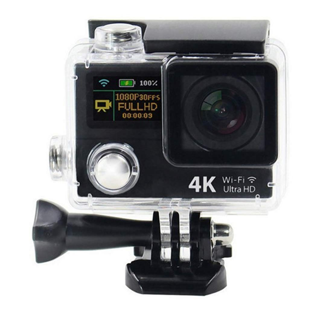 ココH3デュアルカラースクリーンスポーツカメラ-12MP 4K超軽量防水スポーツDV - 170度スーパー広角レンズ - f2.0絞り B07KM79WRC gold gold