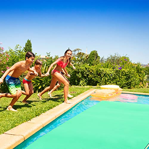 Goplus Floating Water Pad Mat for Lakes 3 Layer Floating Foam Fun Mat Aqua Pad with Tear-Stop Technology Designed for Water Recreation and Relaxing (11.5' x 6') by Goplus (Image #7)