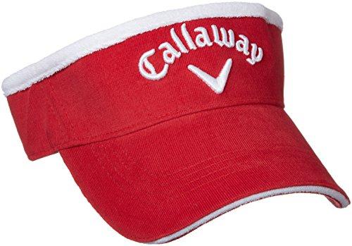より良いタヒチフロー(キャロウェイ アパレル) Callaway Apparel 定番 コーデュロイ バイザー (サイズ調整可能) 帽子 ゴルフ / 247-7290902 [ レディース ]
