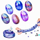 6 Pack Slime Eggs Galaxy Easter Egg Slime Putty