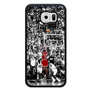 Caitin Michael Air Jordan Last Shoot Cell Phone Cases Cover for Samsung Galaxy S6 (Laster Technology)