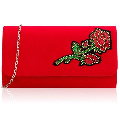 LondonPochette Xardi Xardi Pour Pour LondonPochette Red Femme qUzMSpV